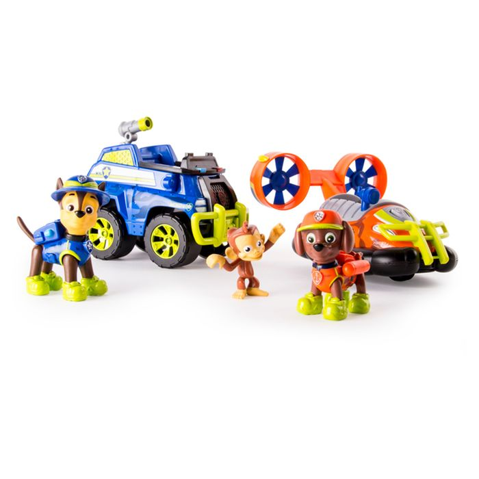 Paw Patrol Jungle Vehicle 2 Pack HALF PRICE