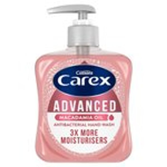 Carex Advanced Liquid Soap 250ml Half Price