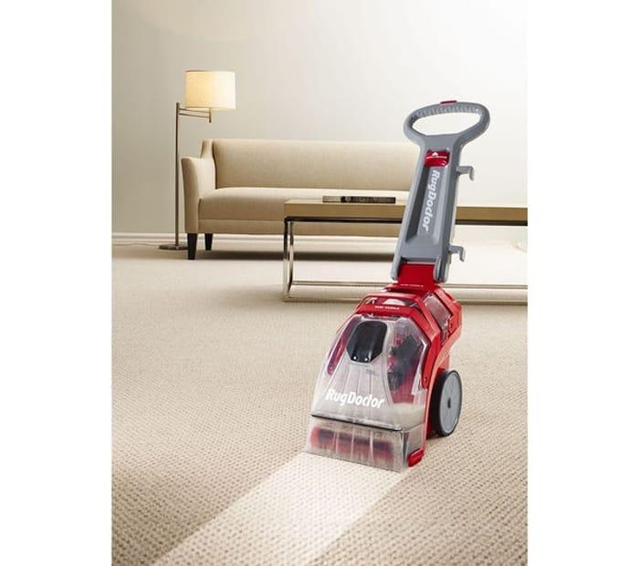 RUG DOCTOR Deep Carpet Cleaner - Red & Grey