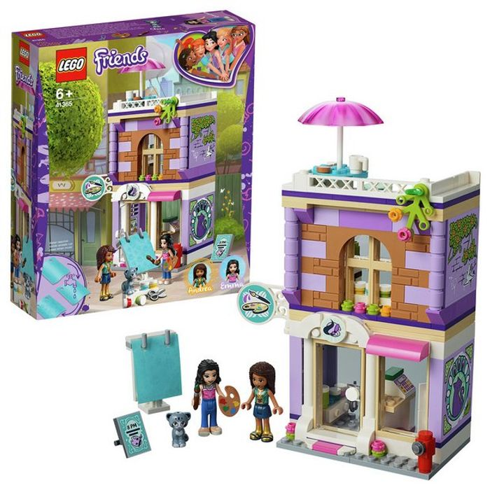 Lego Friends Emma's Art Studio Playset