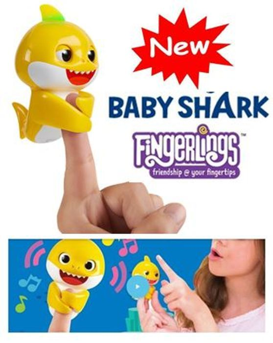 Best Price Baby Shark Fingerling (Styles Vary)
