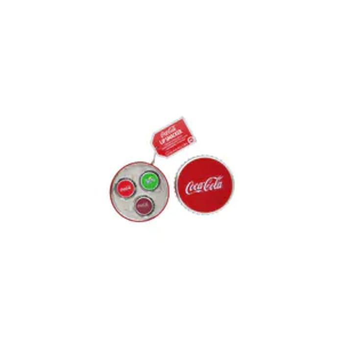 Cheap Lip Smacker Coca Cola Lip Balm Caps 3 Piece Tin, Only £4.99!