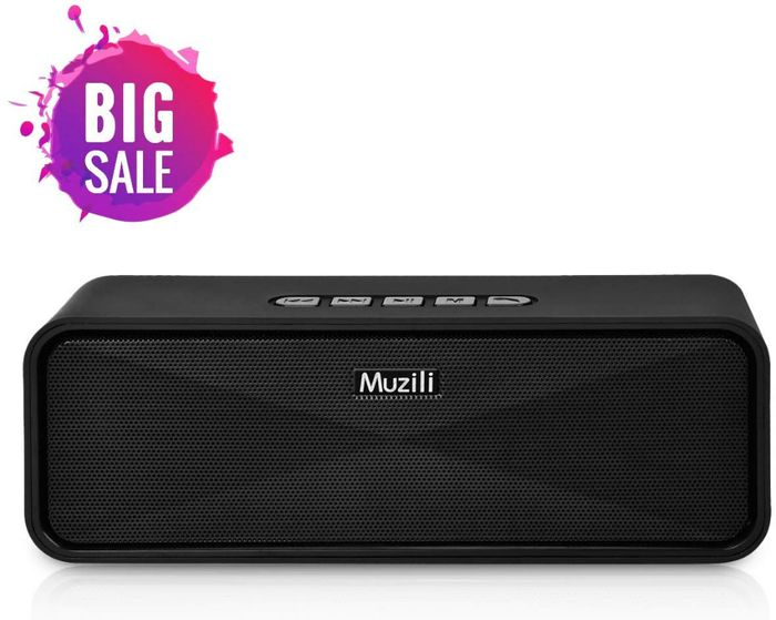 Cheap MUZILI Portable Bluetooth Speakers, reduced by 26%!