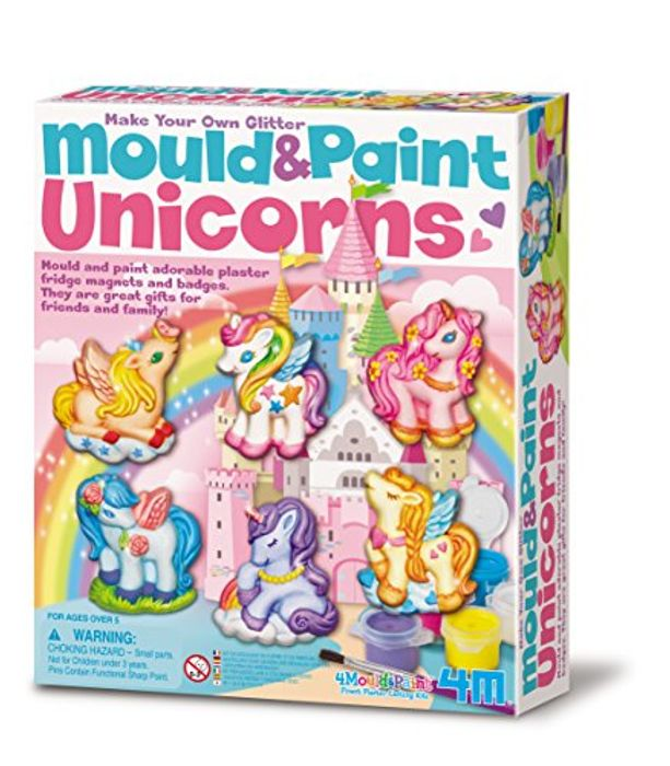 Best Ever Price! 4M Mould and Paint Glitter Unicorn