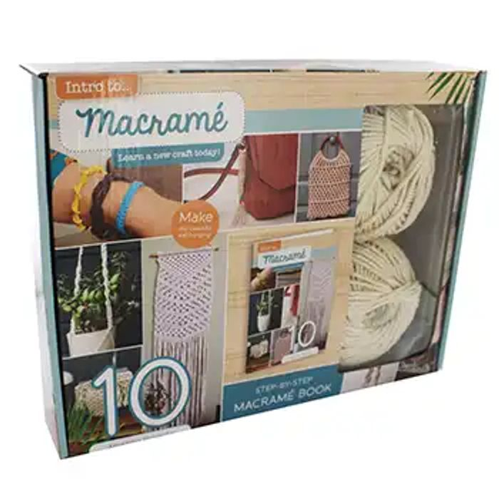 SALE!!! 'Intro to Macrame' Beginners Kit (Or 2 for £10)