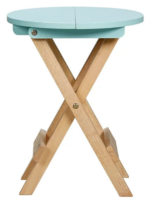 Folding Table - Blue at Asda - Only £10.8!
