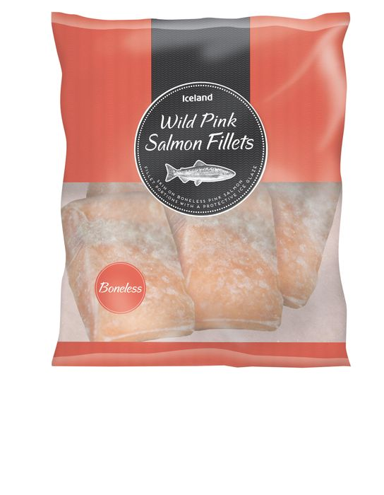 3 x Packets wild salmon at Iceland for £10