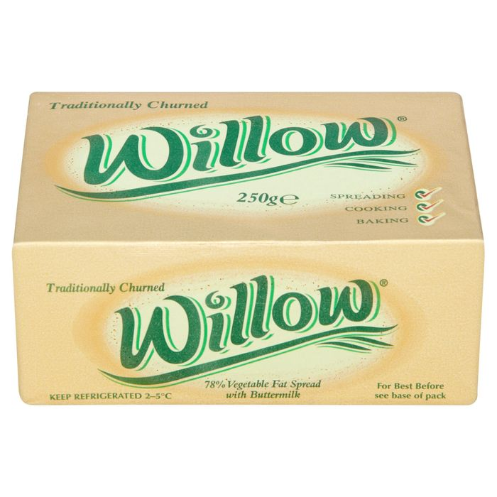 Willow Block 250g Half Price from Wednesday