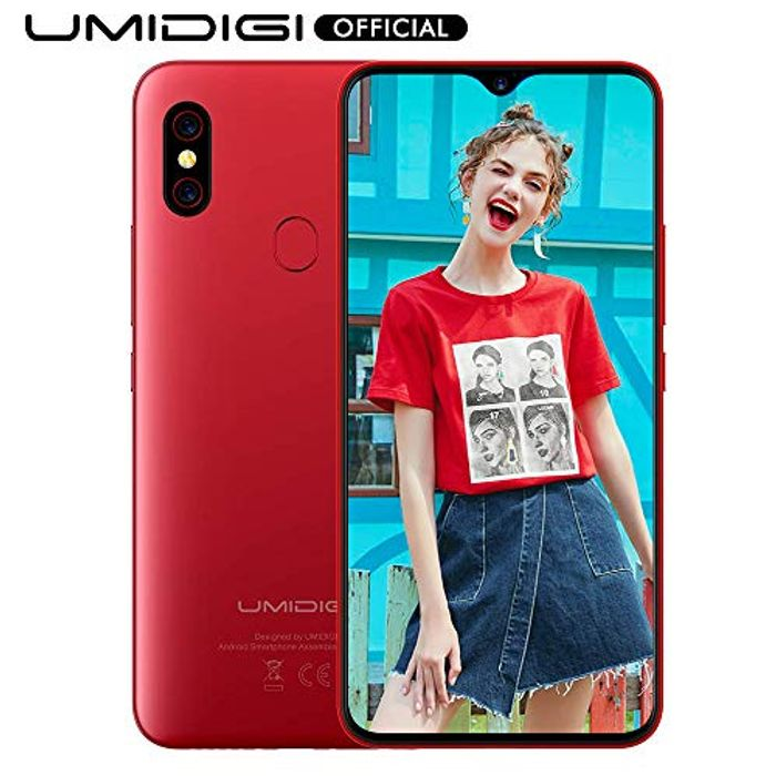 *£20 off Top Spec Android* UMIDIGI F1 Smartphone 128gb 5150mAh Battery