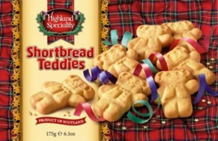 Highland Speciality Shortbread TEDDIES *Amazing Value for Just £1!
