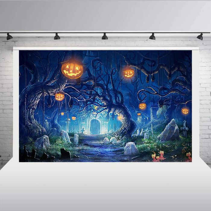 Deal Stack - Halloween Backdrops - 40% off + Extra 5%