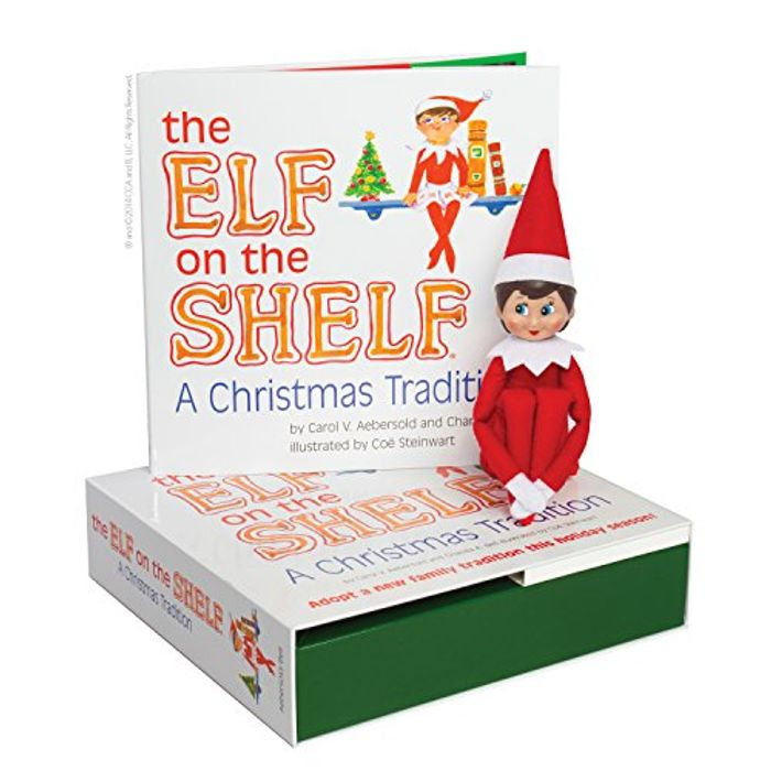 Cheap Elf on the Shelf: A Christmas Tradition (Blue-Eyed Girl) at Amazon