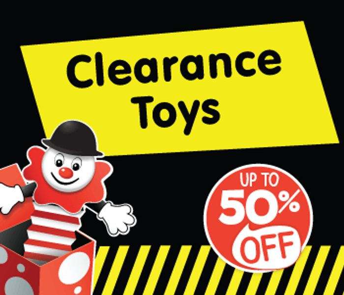 TOY CLEARANCE - The Entertainer - TOY CLEARANCE - The Entertainer