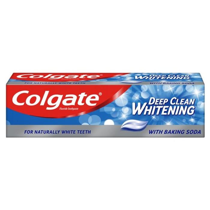 Cheap Colgate Sensation Deep Clean White 75ml, Only £1!