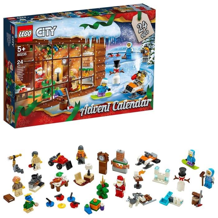 Cheap LEGO CITY Advent Calendar 2019 (60235) Only £19.95