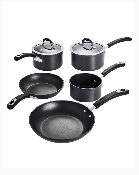 Cheap Infinity Hard Anodised Aluminium 5 Piece Pan Set, reduced by £66.01!