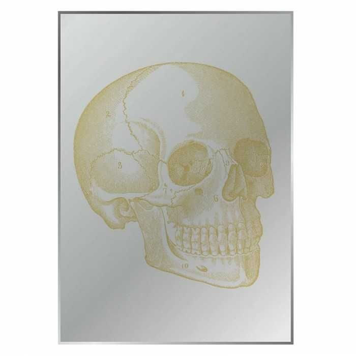 Skull Printed Mirror