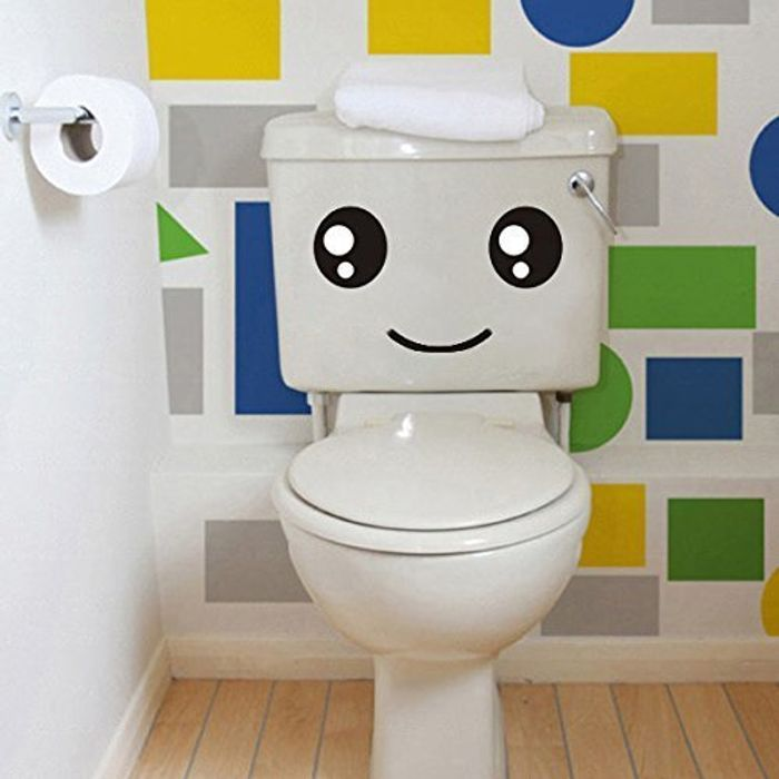 Fun Loo Stickers + Free Delivery