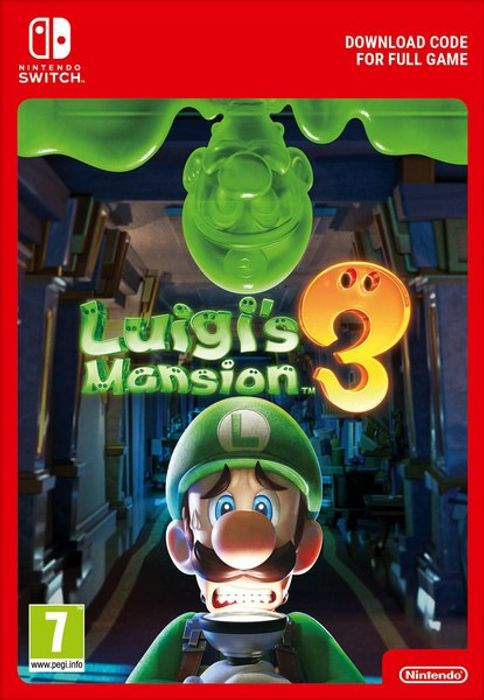 PRE-Order Cheap Nintendo Switch Luigi's Mansion 3 SWITCH Download