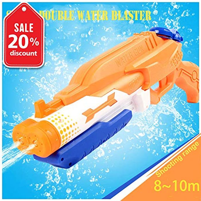 Addmos Water Gun Toy, up to 10m with 1.2L Tank - Less than Half Price