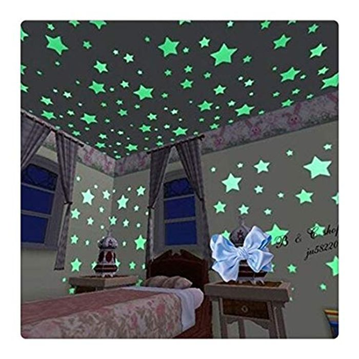 100pcs Glow in the Dark Stars Only £1.44