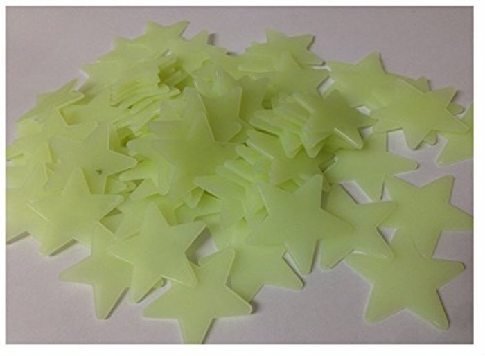 200pcs Glow in the Dark Stars Only £1.21