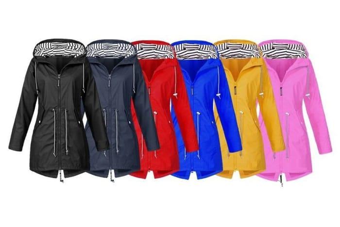 Women's Waterproof Raincoat - 6 Colours & UK Sizes 12-18!