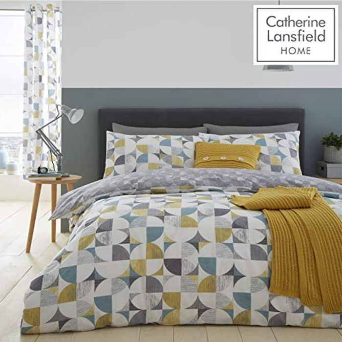 Catherine Lansfield Double Duvet Set Multi - Only £12!