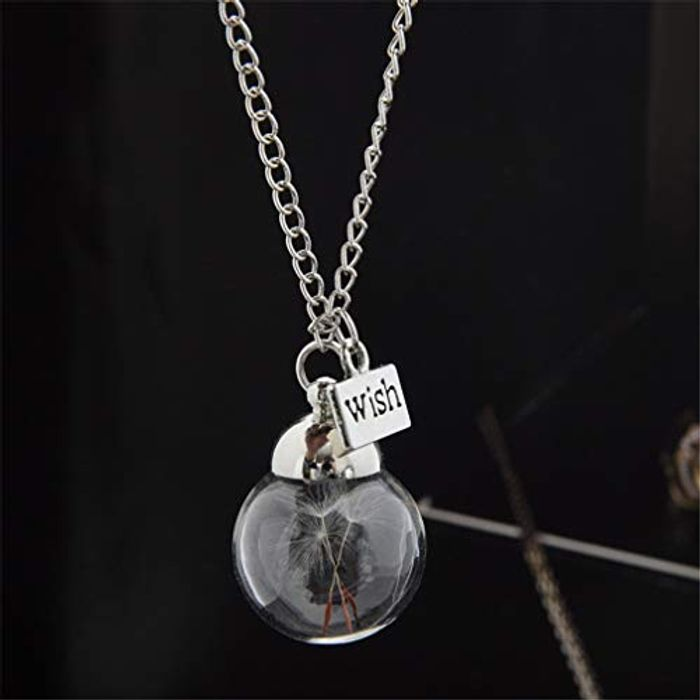 Yigo Glass Bottle Necklace FREE Delivery