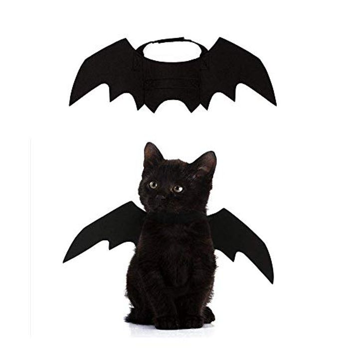 Crewell Halloween Props Pet Dog Cat Bat Wing Cosplay Prop FREE DELIVERY