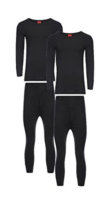 Heatwave Pack of 2 Men's Extreme Thermal Underwear Set