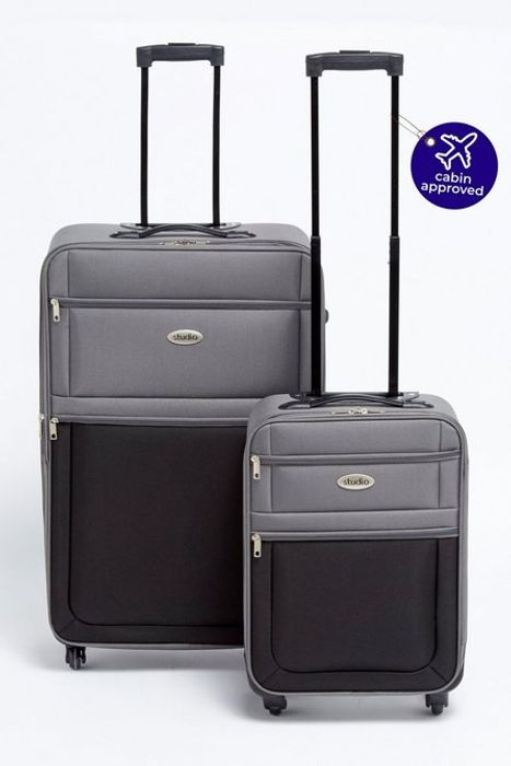 Two Tone Luggage Set
