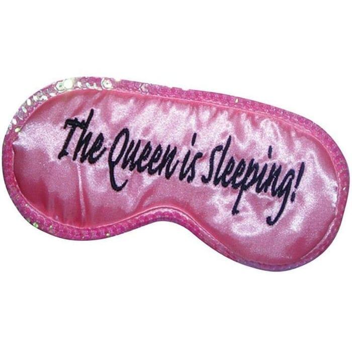 The Queen is Sleeping Eye Mask