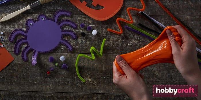 Kids' Craft Club Halloween Slime Making