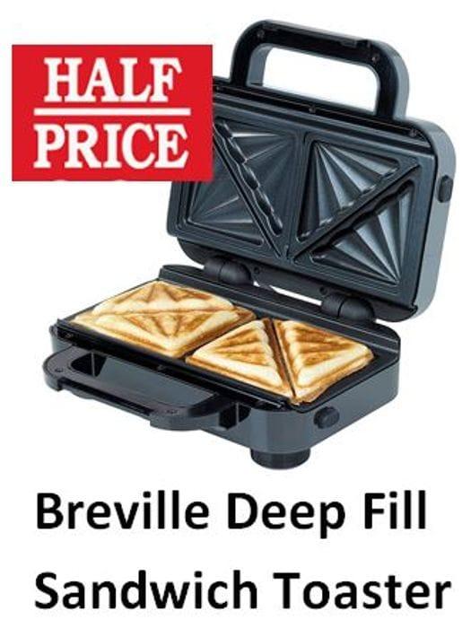 Fancy a Toastie? Breville Deep Fill Sandwich Toaster (VST041)