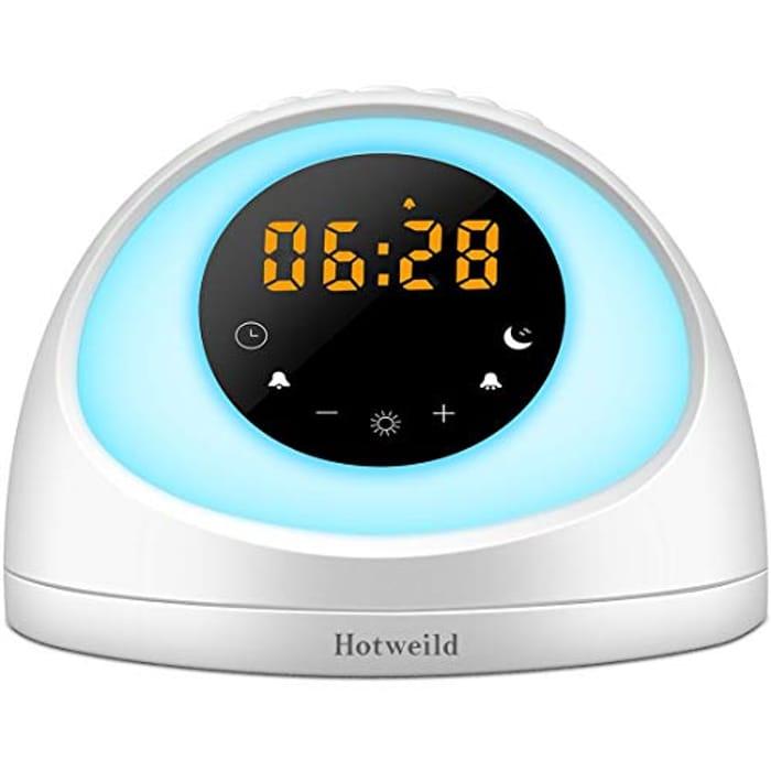 Hotweild Wake up Light Alarm Clock - Only £16.99!