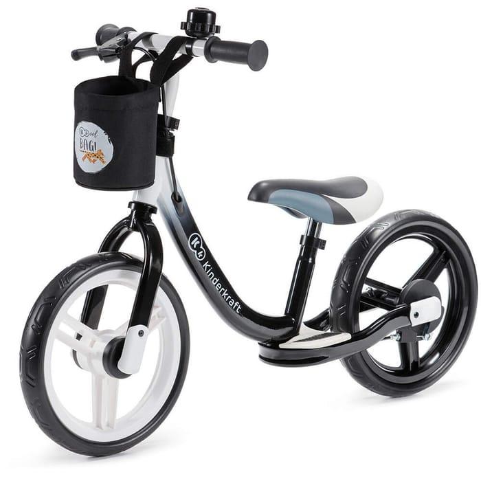 Kinderkraft Space Balance Bike (Black) £3.95 Delivery Charge