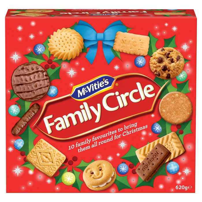 New Mcvitie's Family Circle Biscuits 620G