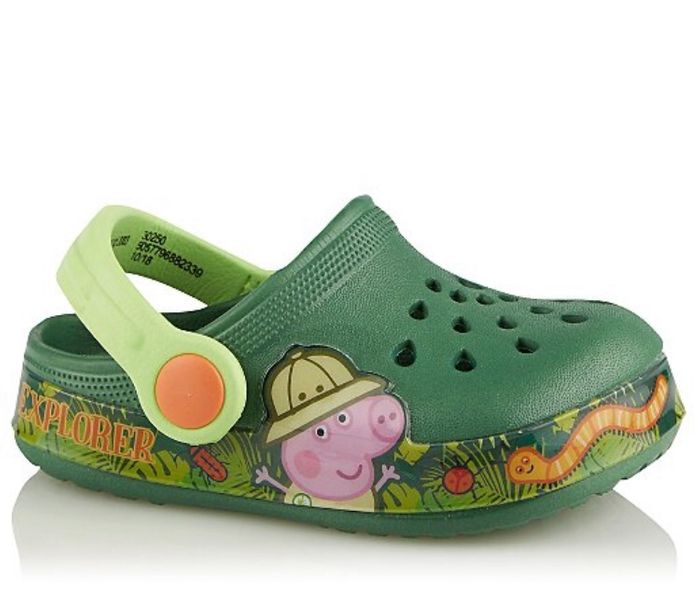 First Walkers Peppa Pig Khaki Clogs - Save £3!