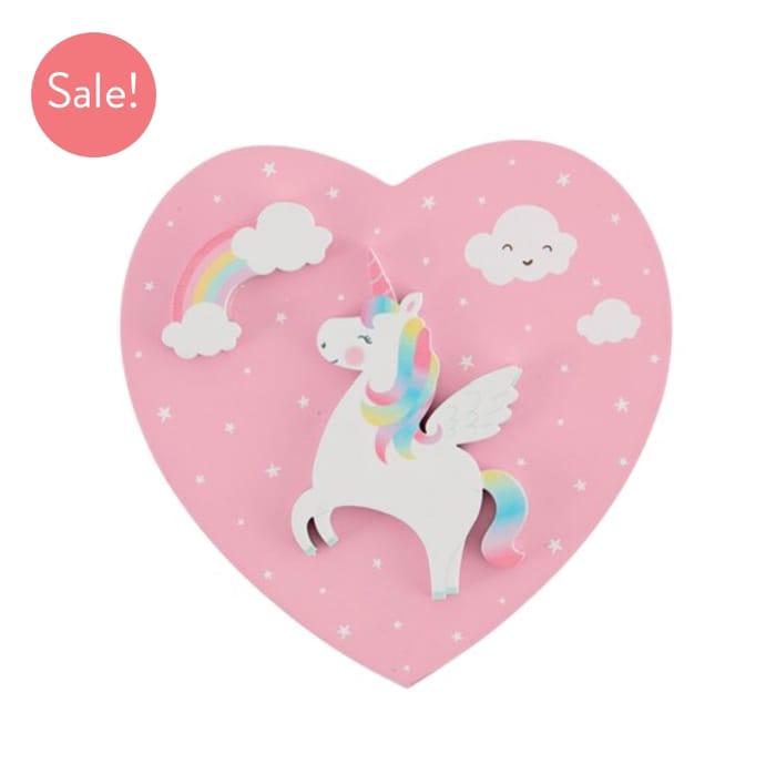 Rainbow Unicorn Jewellery Box at Sassandbelle Only £4.5