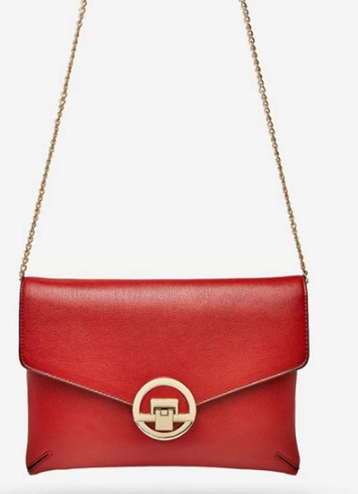 Dorothy Perkins - Red Double Compartment Clutch Bag - Save £10!