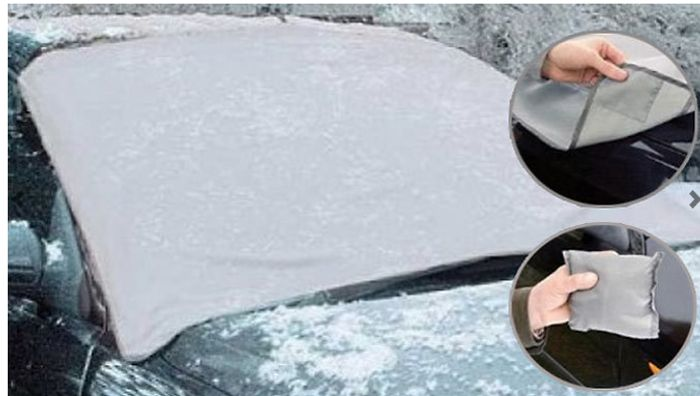 Magnetic Car Windscreen Frost Shield, 7.98 Delivered!