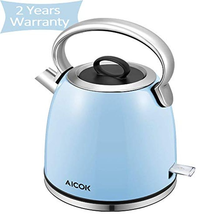 Stainless Steel Kettle - Half Price