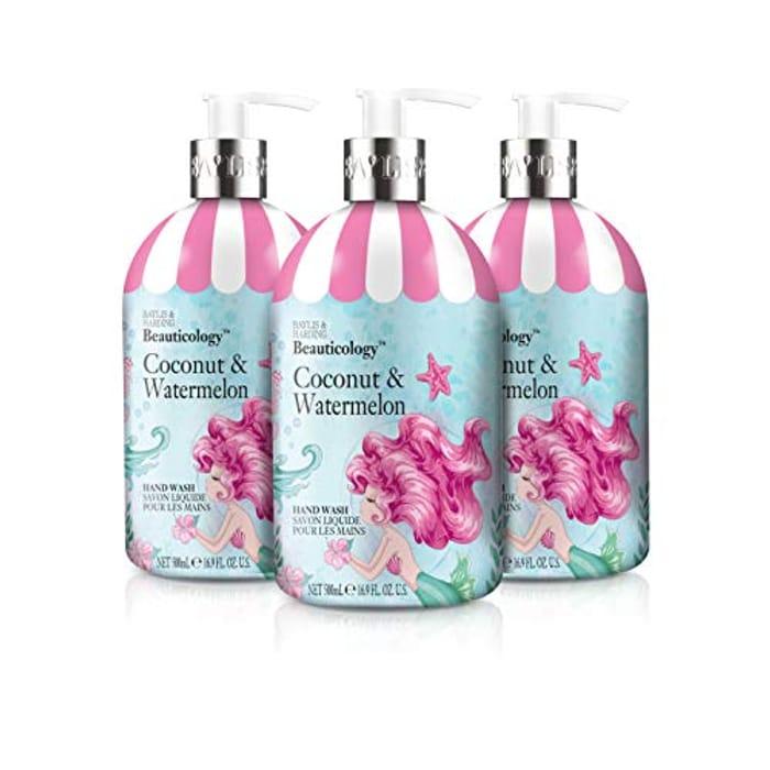 Best Ever Price! Baylis & Harding Beauticology Mermaid Hand Wash 500 Ml X 3