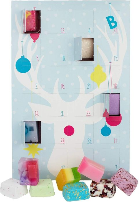 Bomb Cosmetics 24 Door Advent Calendar with Bath Bombs & Soaps - 20% Off!