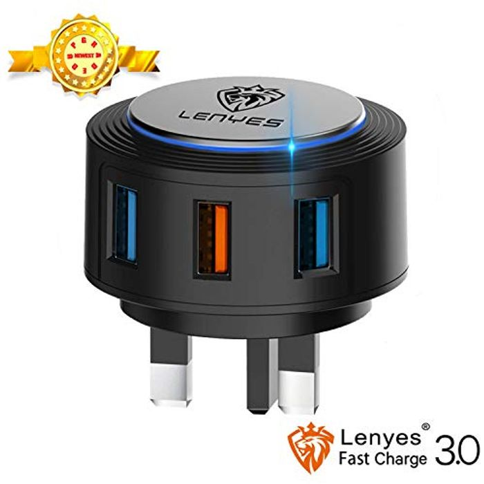 Lenyes 28W/5A USB Wall Charger