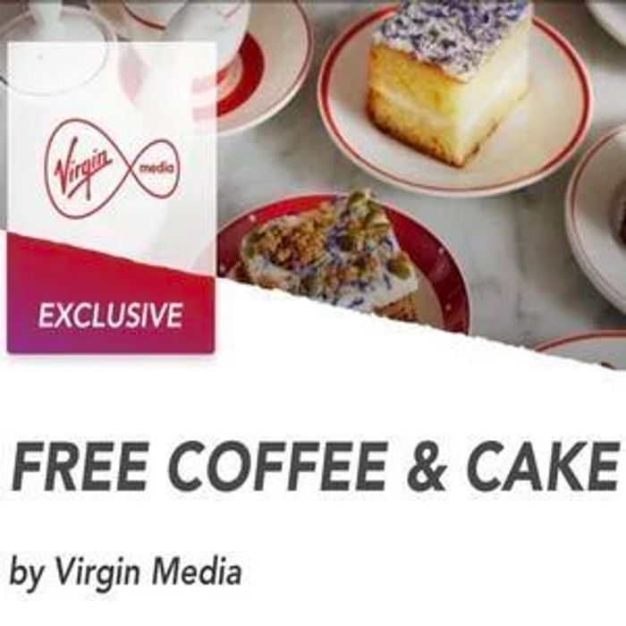 Free Coffee and Cake for Virgin Customers at Bella Italia or Cafe Rouge