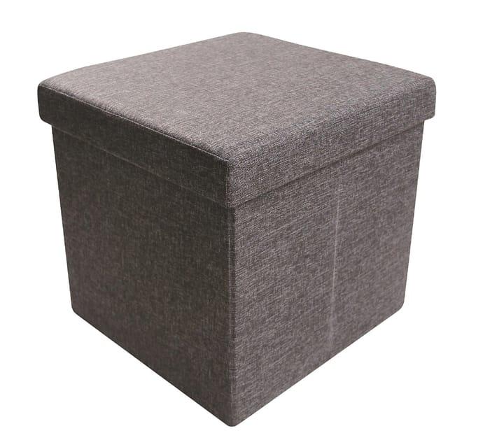B&Q Black 1 Drawer Storage Ottoman Cube - HALF PRICE!