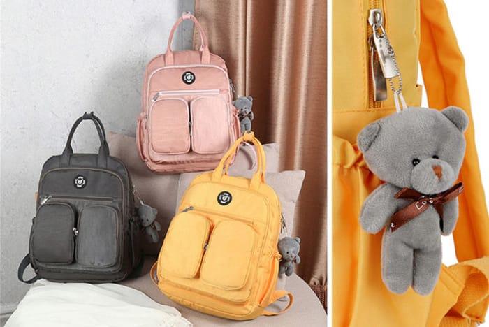 Nylon Waterproof Cute Backpack 5 Colours!