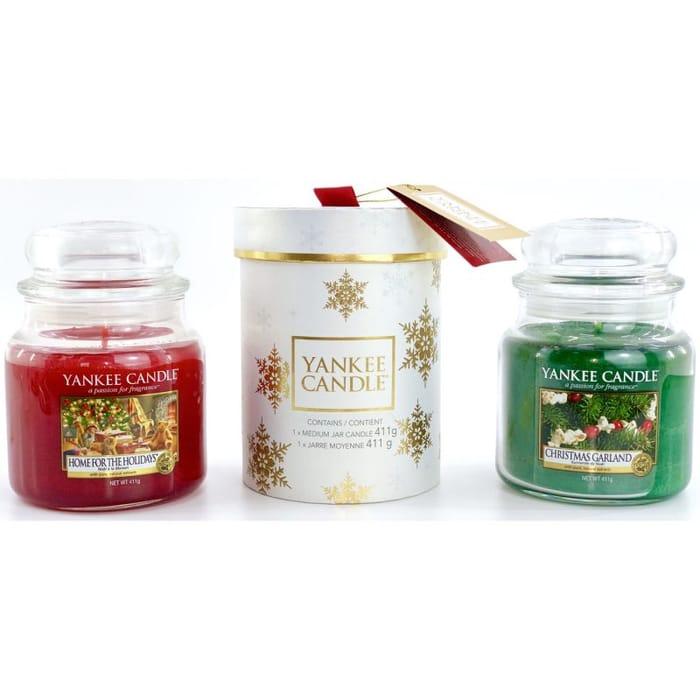 Set of 2 Classic Signature Medium Christmas Jars